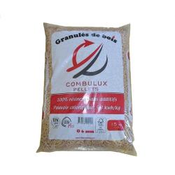 Pellet COMBULUX Din Plus,1/2 palette - Prix livré