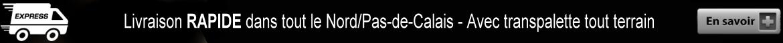 Livraison de pellets dans le Nord - Pas-de-Calais - 59 - 62
